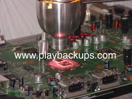ps3 yellow light of death fix ps3 infra red playstation3 bga reflow manchester uk sony ps3 lead