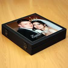 photo album box glass photo album box