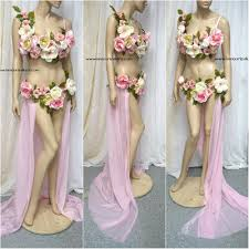 Moon Goddess Fairy Monokini Bra Cosplay Dance Costume Rave Bra by Fairies Flowers Mother Nature L U0027amour Le Allure Online Store