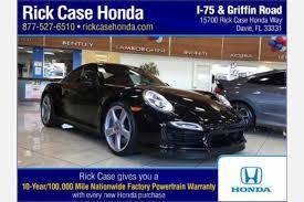 porsche 911 for sale florida used porsche 911 for sale in fl edmunds