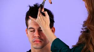 how to spike someones hair how to cut top hair for backward motion hair cutting youtube