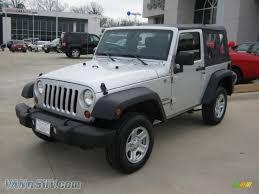 silver jeep rubicon 2011 jeep wrangler sport 4x4 in bright silver metallic 543901