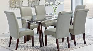 glass top dining room set glass top dining room table sets with chairs