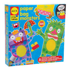 amazon com alex toys little hands paper bag monsters toys u0026 games