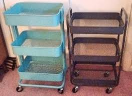 råskog utility cart rolling cart comparison ikea raskog vs target room essentials