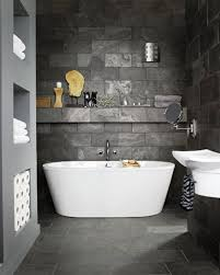 unique gray slate bathroom tile with additional modern home