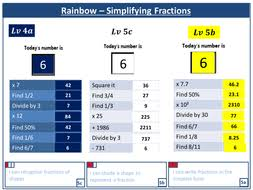 simplifying fractions by harryjob teaching resources tes