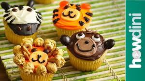 birthday cake ideas monkey lion u0026 zebra cupcake ideas youtube