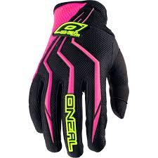 motocross gloves usa o u0027neal element women pink motocross dirtbike gear 2017
