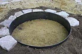 Firepit Ring Mild Steel Pit Ring Pit Ring For Sale