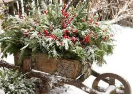 Garden Decorations For Christmas by Vintage Style For Outdoor Christmas Decorations Homesfeed