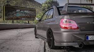 sti subaru white subaru impreza wrx sti 2004 add on tuning gta5 mods com