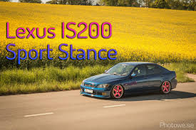 stanced lexus coupe lexus is200 sport stance youtube