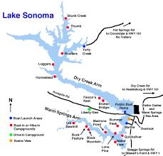 sonoma california map file lake sonoma map gif wikimedia commons