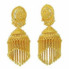 ear ring ethnic traditional indian drop earring bridal jewellery