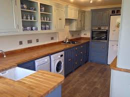 the kitchen furniture company painted bespoke kitchen project wolds furniture company