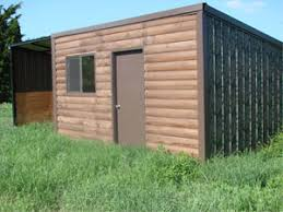 Cheap Hunting Cabin Ideas Gobob Pipe And Steel Sheds