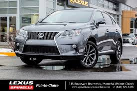 lexus rc awd used 2014 lexus rx 350 f sport awd nav toit cuir cam for sale
