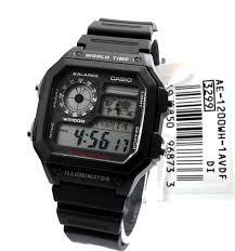 Jam Tangan Casio New jual jam tangan casio original ae 1200wh 1a 100 new me
