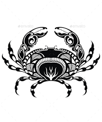 pin by trostli design on tattoos and line art pinterest crabs