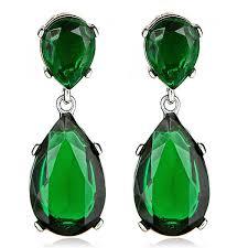 emerald drop 130 kenneth emerald drop earrings http www