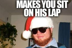 Santa Meme - meet sleazebag santa the new christmas meme