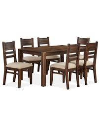 7 dining room sets avondale 7 pc dining room set created for macy s dining table