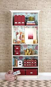 Pink Bookcase Ikea How To Upgrade A Bookcase With Wrapping Paper Ikea Gersby Hack