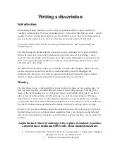 Write My Culture Dissertation Introduction by Writing A Dissertation