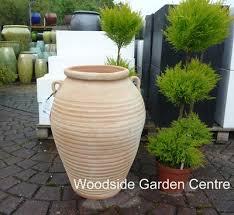 large apta terracotta aegean garden urn woodside garden centre