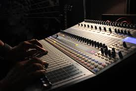 Recording Studio Mixing Desk by Recording Studio Sounds Of The Nations