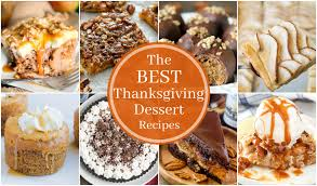 the best thanksgiving dessert recipes domestic