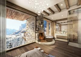 salle de bain dans la chambre chambre avec salle de bain fusion d espaces harmonieuse