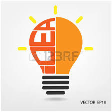 creative light bulb business and ideas concepts royalty free