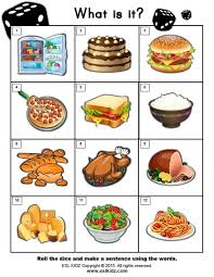 food activities games and worksheets for kids