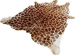 Leopard Cowhide Rug Animal Print Cowhides