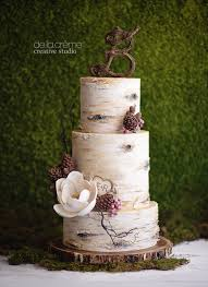 birch tree wedding cake wedding cake frosting french vanilla