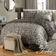 Duvet Covers King Contemporary Bedroom Sophia Blackwhite Printed Super King Size Duvet Cover Bed