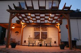 Patio Solar Lighting Ideas by Pergola Design Magnificent External Lamps Outdoor Lighting Led