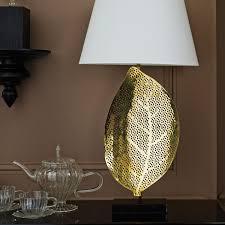 Tiny Lamp by Carambola Leaf Table Lamp Oka