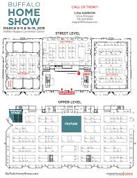 floor plan exhibitor rates u0026 contract for the buffalo home show