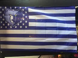 memphis grizzlies one nation under grizz 3x5 u0027 flag at walking