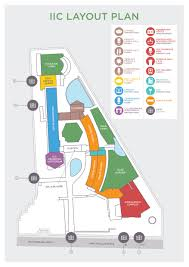New Delhi India Map by Iic India International Centre Map Of Iic Showing Various Venues