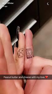 ariel winter and boyfriend levi meaden get matching tattoos