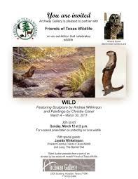 Texas wildlife images Art festival invite jpg jpg
