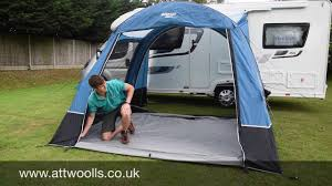 Just Kampers Awning Vango Idris Awning Review 2017 Youtube