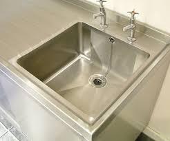 Stainless Design Services Ltd Single Bowl Sit On Sink Tops - Sit on kitchen sink