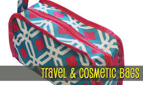 cosmetic bags embroidery blanks