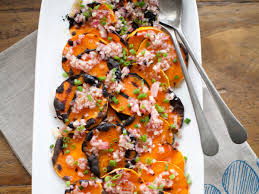 grilled butternut squash with shallot vinaigrette recipe kate