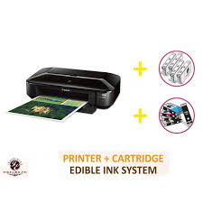 edible printing system professional deluxe package inkedibles wide format canon ix6820